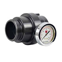 piezometer guage 227A from Elkhart Brass